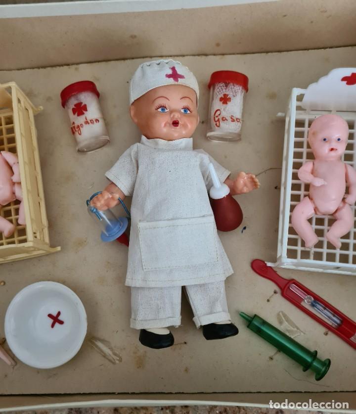 Muñeca española clasica: HOSPITAL INFANTIL 30 X 22 X 7 CM - Foto 4 - 247289335