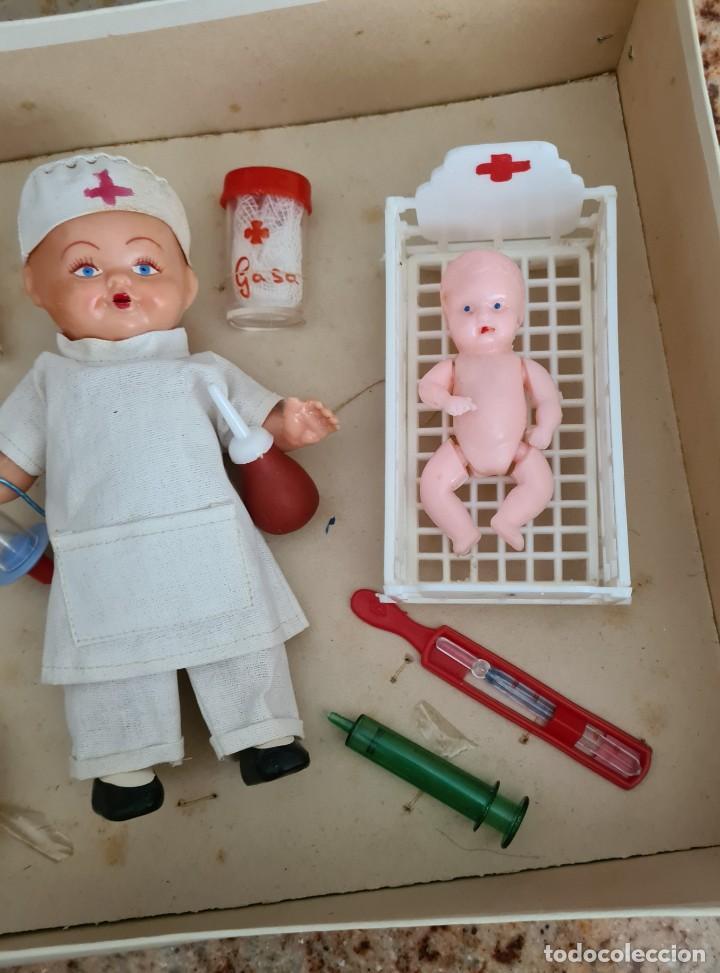 Muñeca española clasica: HOSPITAL INFANTIL 30 X 22 X 7 CM - Foto 5 - 247289335