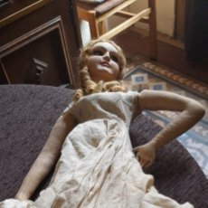 Muñeca española clasica: MUÑECA MUY ANTIGUA. Lote 247669035