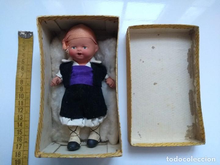 Muñeca española clasica: ANTIGUO MUÑECO VESTIDO REGIONAL CON CAJA ORIGINAL. AÑOS 30-40 - Foto 3 - 249087590