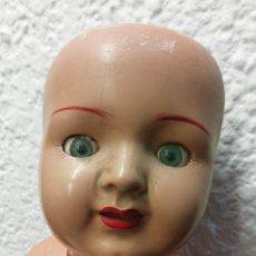 Muñeca española clasica: MUÑECA CARTÓN-PIEDRA ESPAÑOLA. Lote 249561930