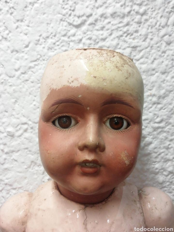 MUÑECA DE CARTÓN-PIEDRA ESPAÑOLA (Juguetes - Otras Muñecas Españolas Clásicas (Hasta 1.960))