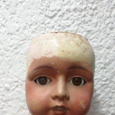 Muñeca española clasica: MUÑECA DE CARTÓN-PIEDRA ESPAÑOLA. Lote 249564170