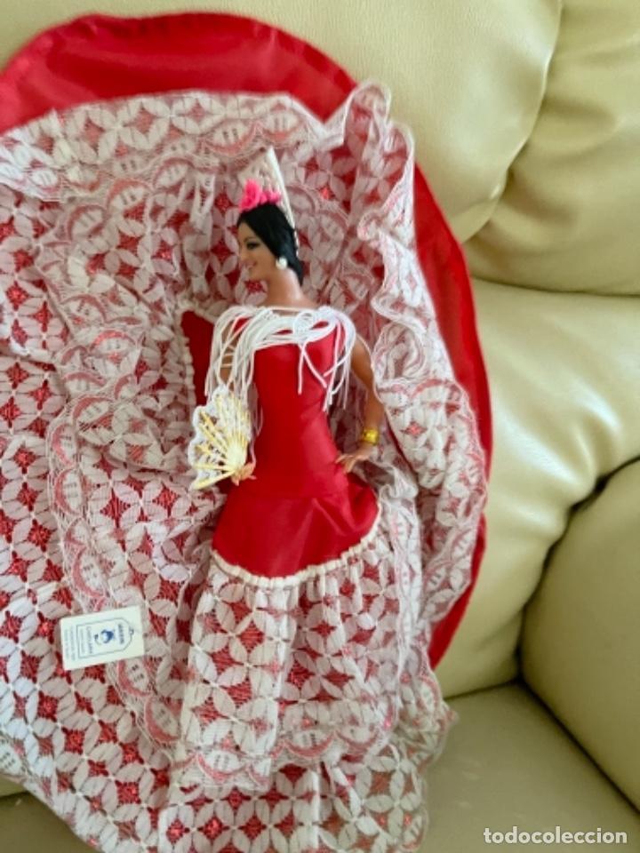 Muñeca española clasica: Marín caja original con dos muñecos flamencos 32 Cm - Foto 4 - 251267455