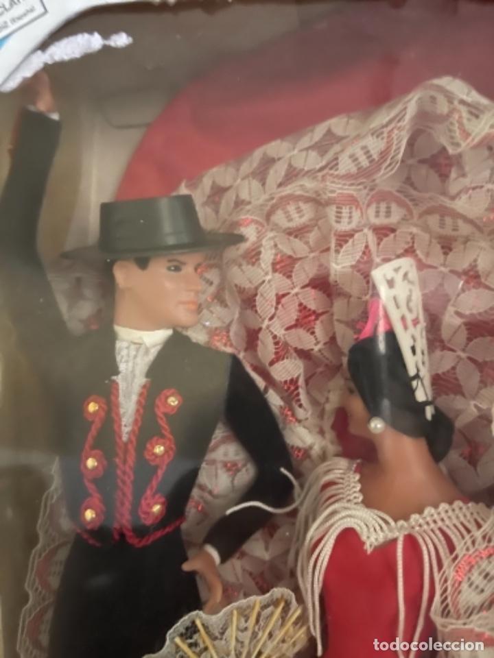 Muñeca española clasica: Marín caja original con dos muñecos flamencos 32 Cm - Foto 9 - 251267455