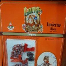 Muñeca española clasica: VESTIDITO LAURA INVIERNO. Lote 254107375
