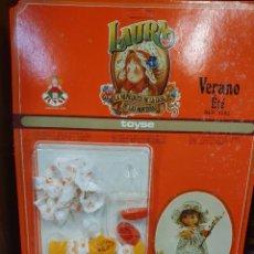 Muñeca española clasica: VESTIDO MUÑECA LAURA. Lote 254107420