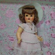 Muñeca española clasica: ESPECTACULAR MUÑECA MARICELA DE SANTIAGO MOLINA, ANDADORA,SIN USO.. Lote 254463425