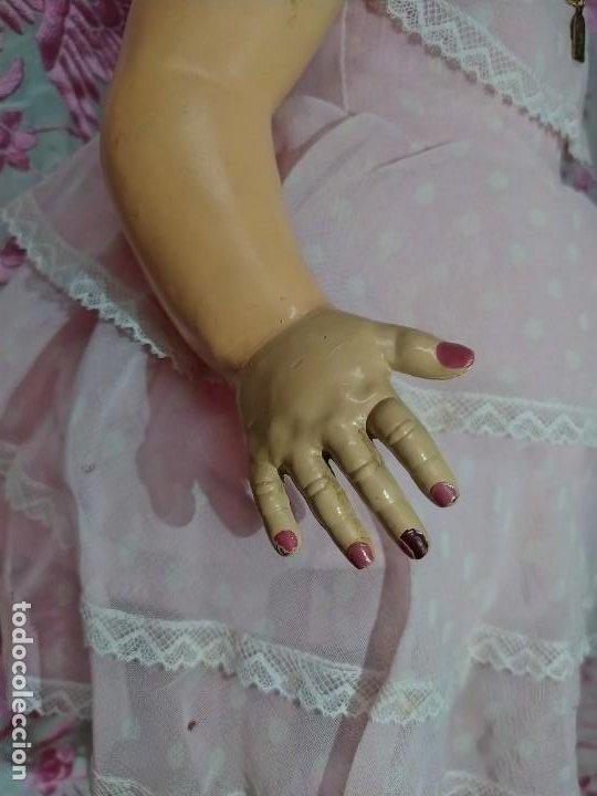 Muñeca española clasica: ESPECTACULAR MUÑECA MARICELA DE SANTIAGO MOLINA, ANDADORA,SIN USO. - Foto 8 - 254463425