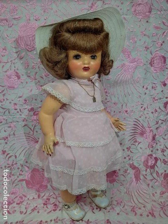 Muñeca española clasica: ESPECTACULAR MUÑECA MARICELA DE SANTIAGO MOLINA, ANDADORA,SIN USO. - Foto 10 - 254463425