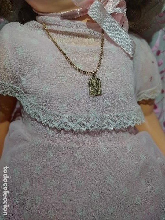 Muñeca española clasica: ESPECTACULAR MUÑECA MARICELA DE SANTIAGO MOLINA, ANDADORA,SIN USO. - Foto 12 - 254463425