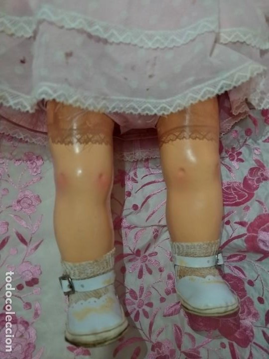 Muñeca española clasica: ESPECTACULAR MUÑECA MARICELA DE SANTIAGO MOLINA, ANDADORA,SIN USO. - Foto 19 - 254463425