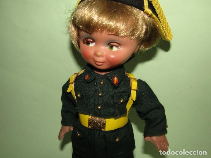 Muñeca española clasica: Antigua Muñeca LINDA PIRULA PIRULO Guardia Civil de Muñecas de ALBA - Año 1950-60s. - Foto 10 - 254619830