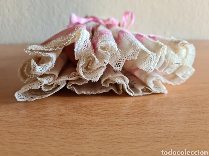 Muñeca española clasica: Muñeca brazos articulados año 1951 - Porcelana Biscuit - Vestido de tela y papel - Numerada - Foto 3 - 254623395