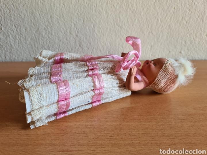 Muñeca española clasica: Muñeca brazos articulados año 1951 - Porcelana Biscuit - Vestido de tela y papel - Numerada - Foto 12 - 254623395