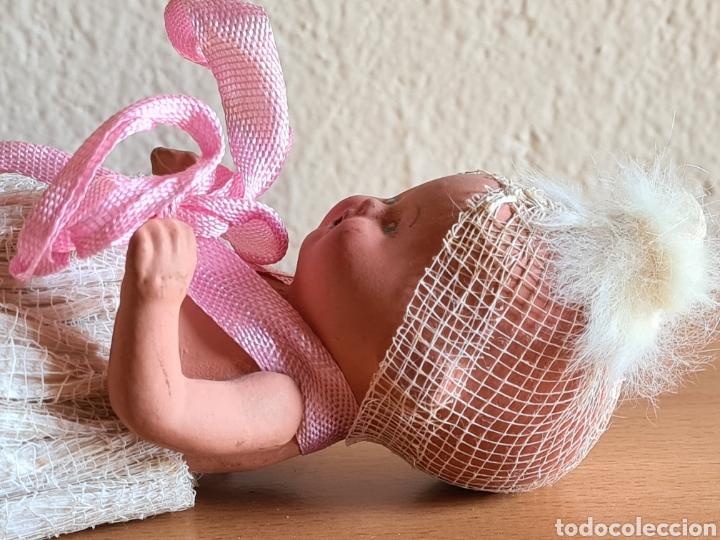 Muñeca española clasica: Muñeca brazos articulados año 1951 - Porcelana Biscuit - Vestido de tela y papel - Numerada - Foto 13 - 254623395