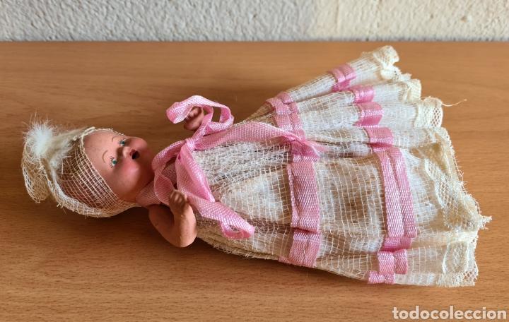 Muñeca española clasica: Muñeca brazos articulados año 1951 - Porcelana Biscuit - Vestido de tela y papel - Numerada - Foto 20 - 254623395