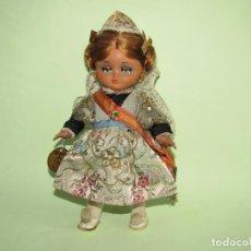 Muñeca española clasica: ANTIGUA MUÑECA LINDA PIRULA ATUENDO DE FALLERA DE MUÑECAS DE ALBA - AÑO 1950-60S.. Lote 254903955