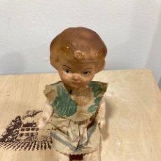 Muñeca española clasica: ANTIGUA MUÑECA DE CARTÓN PIEDRA. Lote 259825075