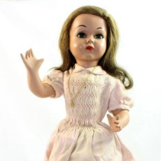 Muñeca española clasica: MUÑECA FLORIDO 1950 CARTON PIEDRA. Lote 261841690