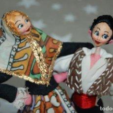 Muñeca española clasica: PAREJA DE MUÑECOS ROLDAN. Lote 262118120
