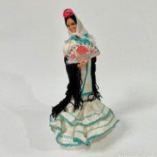 Muñeca española clasica: MADRILEÑA CHULAPA 18 CM MUÑECAS MARÍN CHICLANA MADRID CHOTIS. Lote 262269635