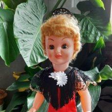 Muñeca española clasica: ANTIGUA MUÑECA 1962 TRAJE DE COLA. Lote 262631850