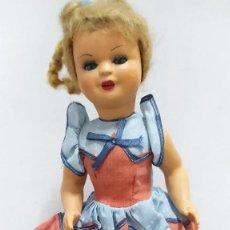 Muñeca española clasica: MUÑECA MARISA AÑOS 50.TODO ORIGINAL. EN MUY BUEN ESTADO.. Lote 265345769