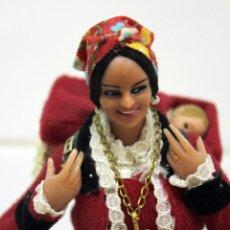 Bambola spagnola classica: MUÑECA MARÍN CHICLANA TRAJE TIPICO - GALICIA? ASTURIAS?-??? DIFICIL DE CONSEGUIR.. Lote 267646939