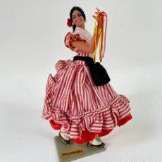 Boneca espanhola clássica: JOVEN MALAGUEÑA 22 CM MUÑECAS MARÍN CHICLANA MÁLAGA. Lote 268614199
