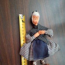 Muñeca española clasica: MUÑECA ANTIGUA DE FIELTRO Y ALAMBRE. Lote 270187758