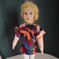 Muñeca española clasica: MUÑECA DE LIENZO O TELA DE LA CASA PAGÉS NATI. Lote 272427428