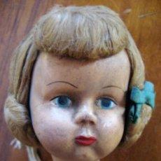 Muñeca española clasica: PRECIOSA ANTIGUA MUÑECA ALEMANA? PARA RESTAURAR , CABEZA BUEN ESTADO BONITO PEINADO. Lote 273303663