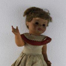 Bambola spagnola classica: MUÑECA CUERPO DE COMPOSICIÓN Y CARA DE CELULOIDE, PARA RESTAURAR.. Lote 273932173