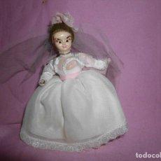 Muñeca española clasica: ANTIGUA MUÑECA DE COMUNIÓN EN CELULOIDE. Lote 274429698