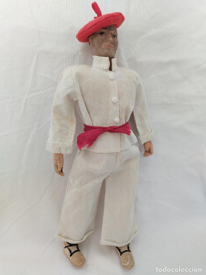Muñeca española clasica: Raro y antiguo muñeco Lenci regional vasco - Foto 3 - 275570018