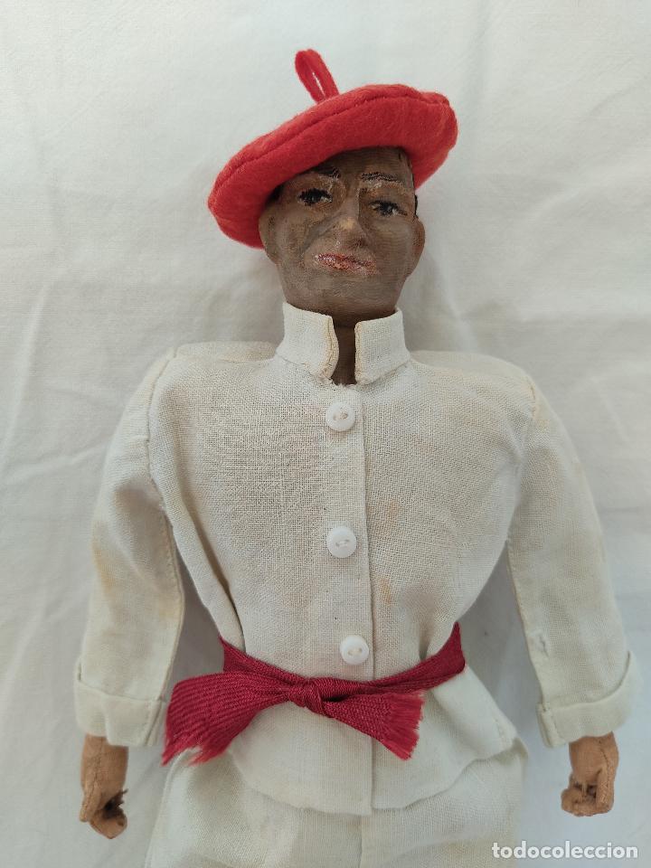 Muñeca española clasica: Raro y antiguo muñeco Lenci regional vasco - Foto 2 - 275570018