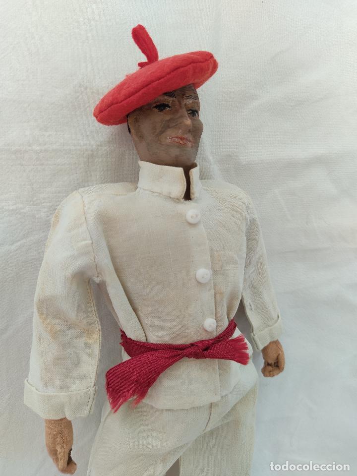 Muñeca española clasica: Raro y antiguo muñeco Lenci regional vasco - Foto 4 - 275570018