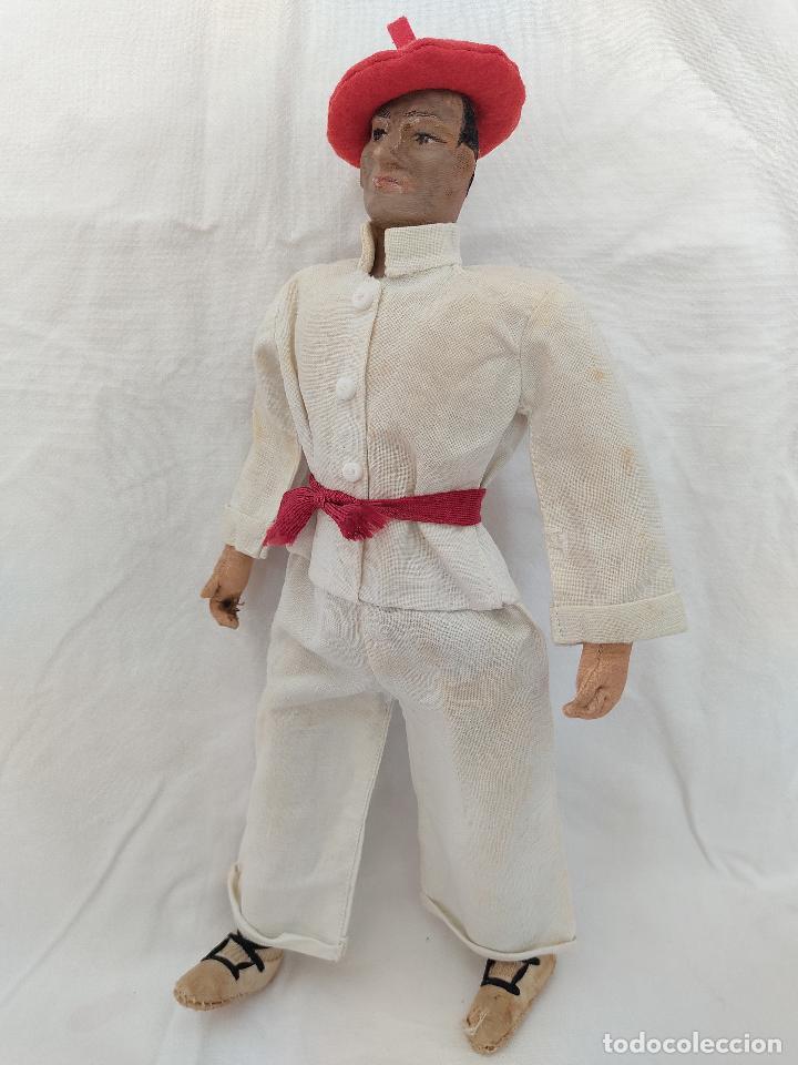Muñeca española clasica: Raro y antiguo muñeco Lenci regional vasco - Foto 5 - 275570018
