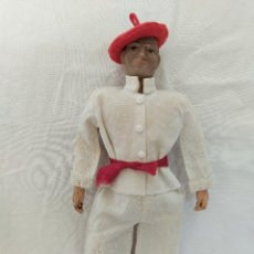 Muñeca española clasica: RARO Y ANTIGUO MUÑECO LENCI REGIONAL VASCO. Lote 275570018