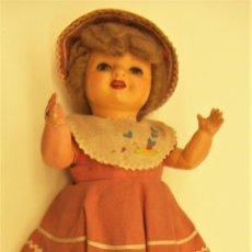 Muñeca española clasica: ANTIGUA MUÑECA CON EL VESTIDO ORIGINAL. Lote 275677223