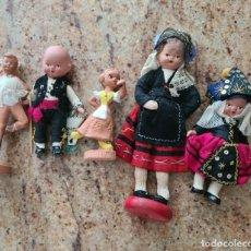 Bambola spagnola classica: CONJUNTO MUÑECOS TERRACOTA. ENTRE 12 Y 18 CM. MUY BUEN ESTADO. Lote 275749208