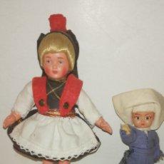 Muñeca española clasica: MUÑECAS MINI ANTIGUAS. Lote 275986923