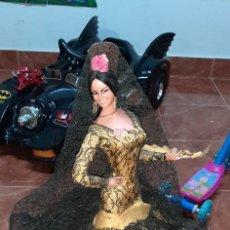 Bambola spagnola classica: RESERVADA ANTIGUA MUÑECA FLAMENCA MARIN TAL Y COMO SE VE EN LAS IMÁGENES. Lote 276289008