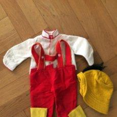 Muñeca española clasica: TRAJE ORIGINAL MUÑECO CRISTOBAL, NOVOGAMA. Lote 277002288
