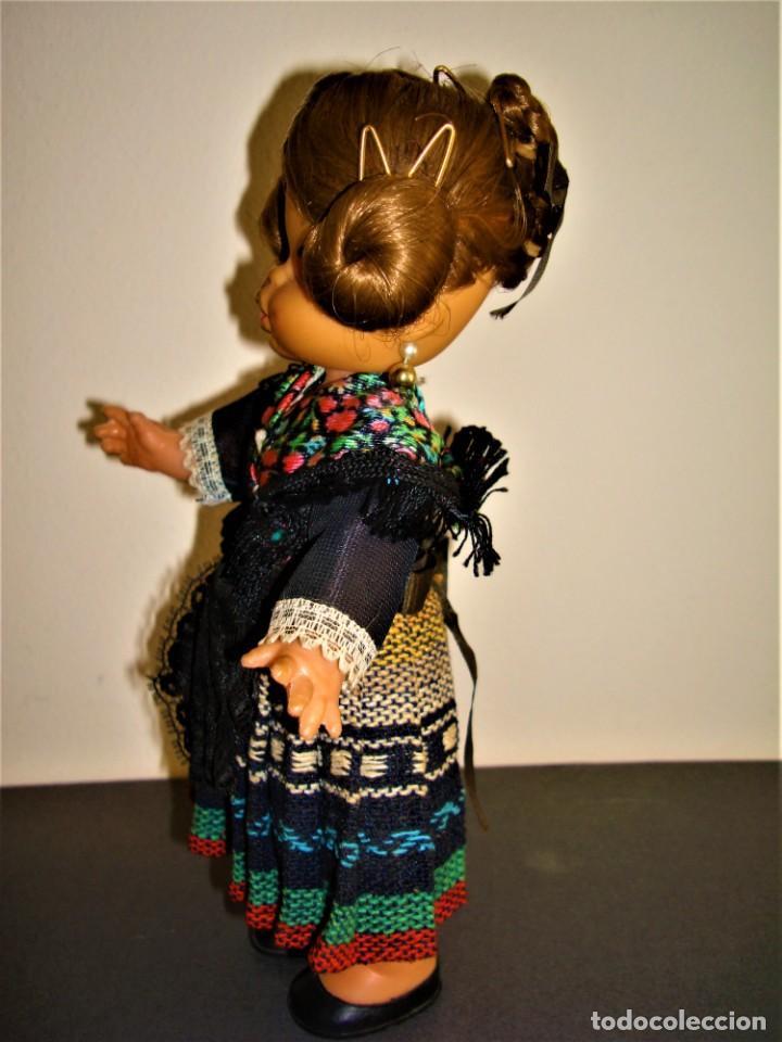 Muñeca española clasica: MUÑECA ANTIGUA VALENCIANA.FALLERA. - Foto 2 - 277015773