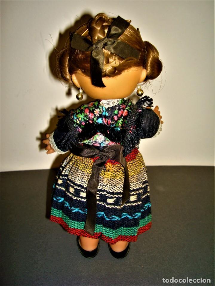 Muñeca española clasica: MUÑECA ANTIGUA VALENCIANA.FALLERA. - Foto 3 - 277015773