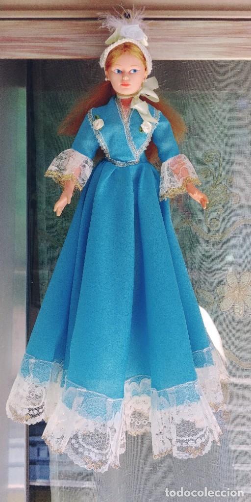 Muñeca española clasica: muñeca antigua años 70,mide 42 ctm - Foto 2 - 278610903