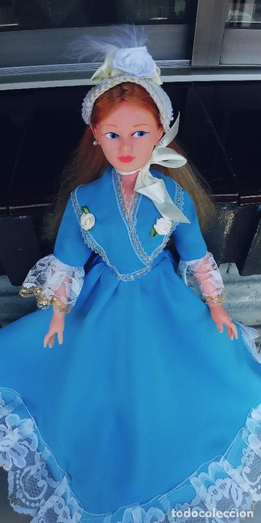 Muñeca española clasica: muñeca antigua años 70,mide 42 ctm - Foto 3 - 278610903