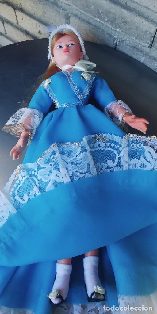 Muñeca española clasica: muñeca antigua años 70,mide 42 ctm - Foto 4 - 278610903
